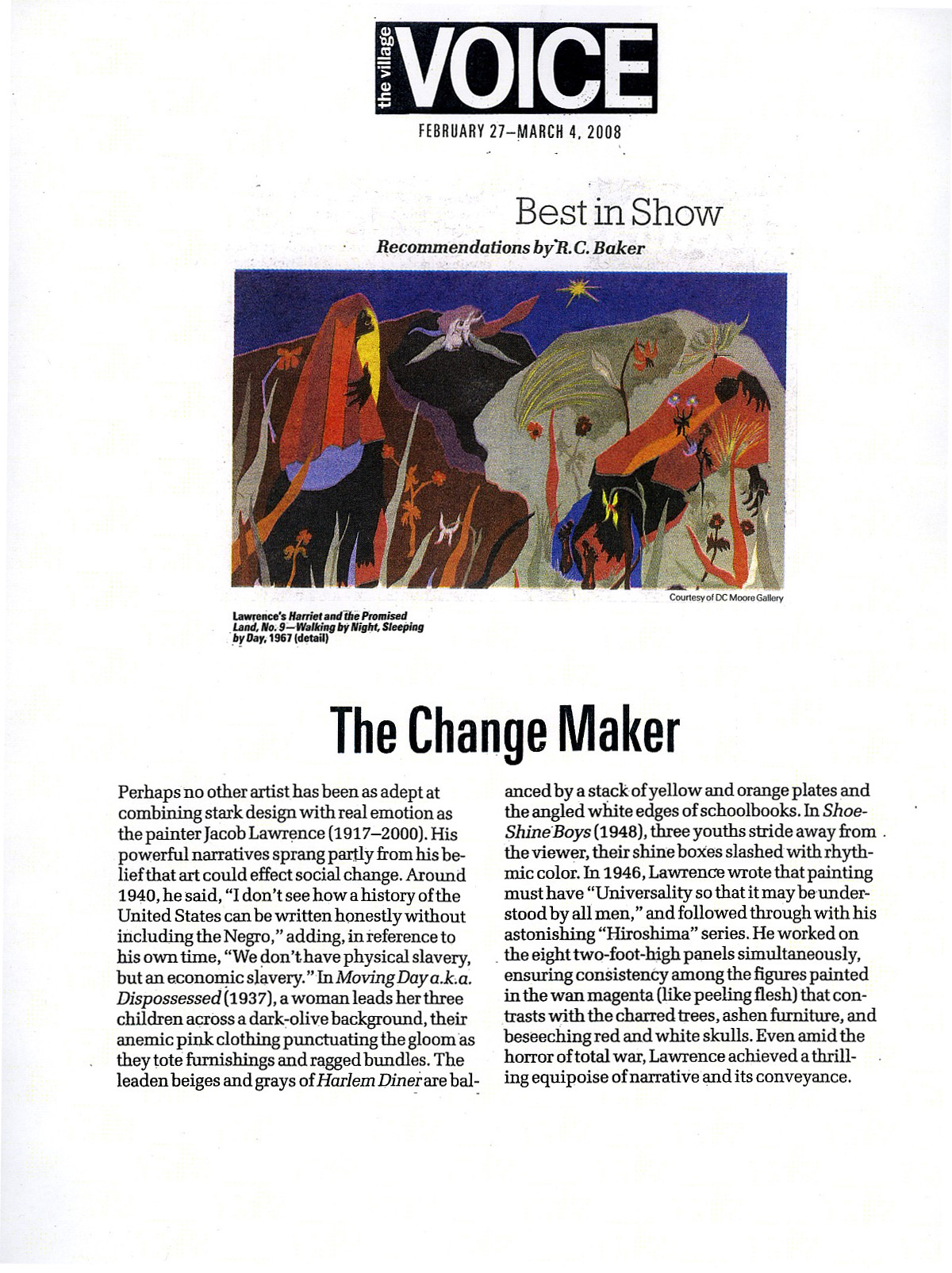 best in show the change maker